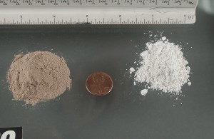 Heroin (r) south east asian (L) south west asian