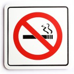 No smoking sign 9-22-11