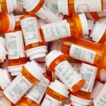 Dozens of Prescription  Pill Bottles