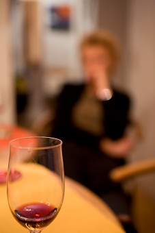 Woman drinking 10-17-12