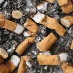 Cigarette butts- 1-8-13