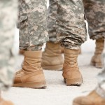 Army feet