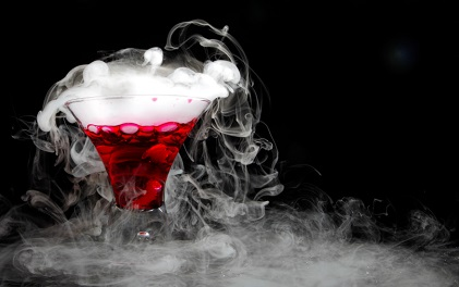Alcohol dry ice 5-30-13