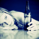 Young girl with Beer Bottle 9-17-13