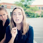 teen girls smoking e-cigarettes 9-6-13