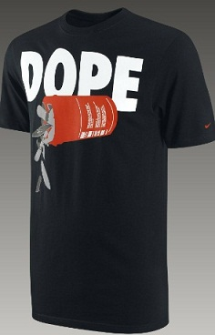 """2e45fe07b523 Nike is Selling T-Shirts That Say """"Dope"""" and """"Get High"""" — What Do You Think"""
