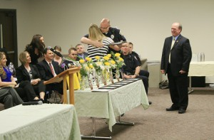 A Drug Court graduation in Bloomington, Illinois.
