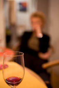 Woman drinking 10-29-12