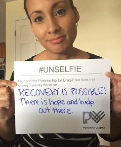 unselfie-giving-tuesday-2016-candice-besson-partnership-for-drug-free-kids